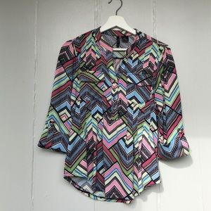 New Directions Petite Swing Top